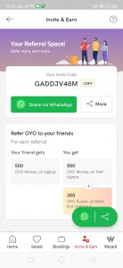 OYO Referral Code