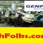 Genpact job openings for freshers
