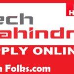 Tech Mahindra job openings for freshers