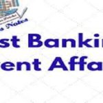 Banking – Latest Current Affairs