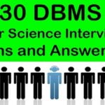 DBMS Basics :: Interview Questions and Answers