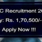 Vacancy for the post of General Manager, salary Rs 1,70,500
