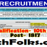 DRDO Recruitment 2020 – Apply Online
