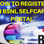 How to Register in BSNL Selfcare Portal ? Manage All FTTH Services